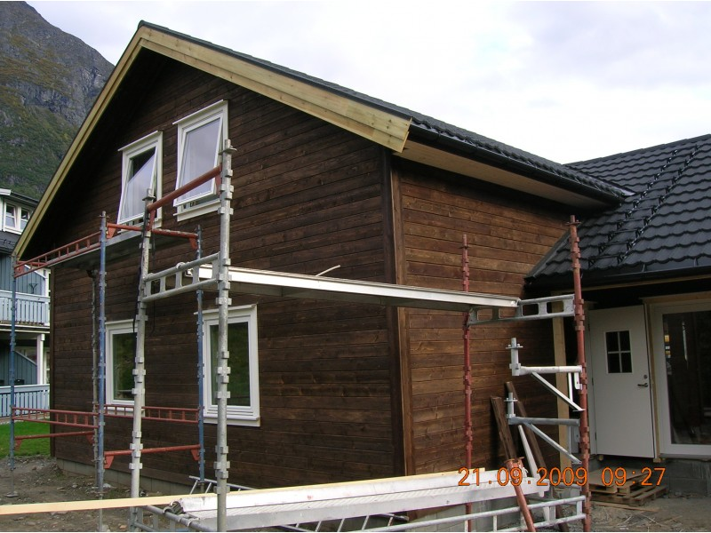 Privātmājas 2 būvniecība Norvēģijā
